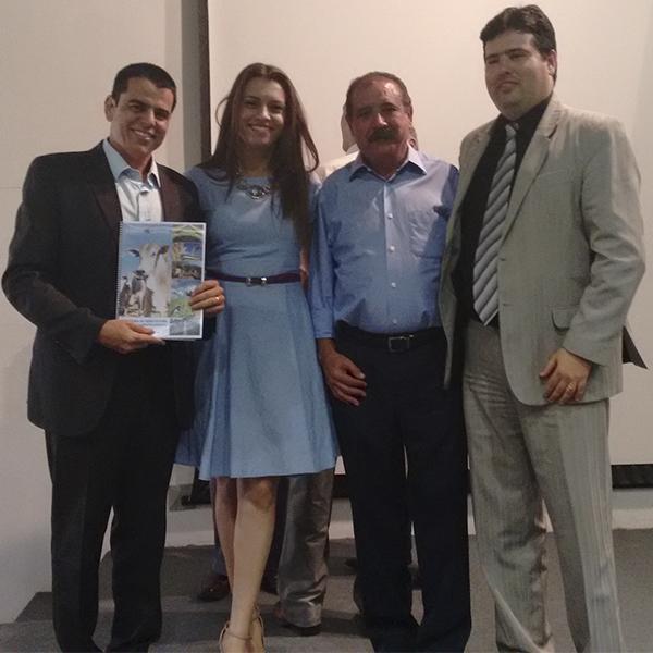Fabiano Tolentino, Sr. Kamila Carvalho, Silvio Silveira e João Cruz Reis Filho