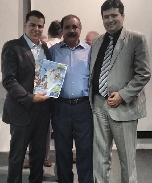 Fabiano Tolentino, Silvio Silveira e João Cruz Reis Filho.