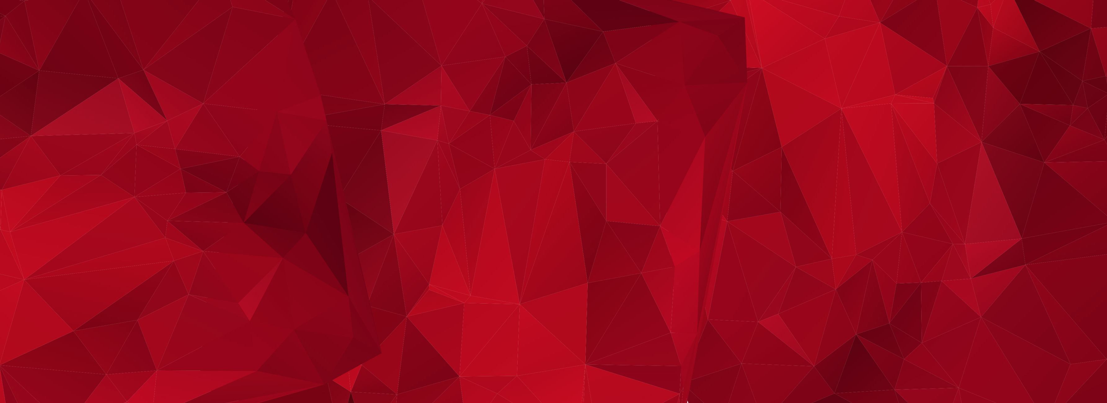 red-geometric-background
